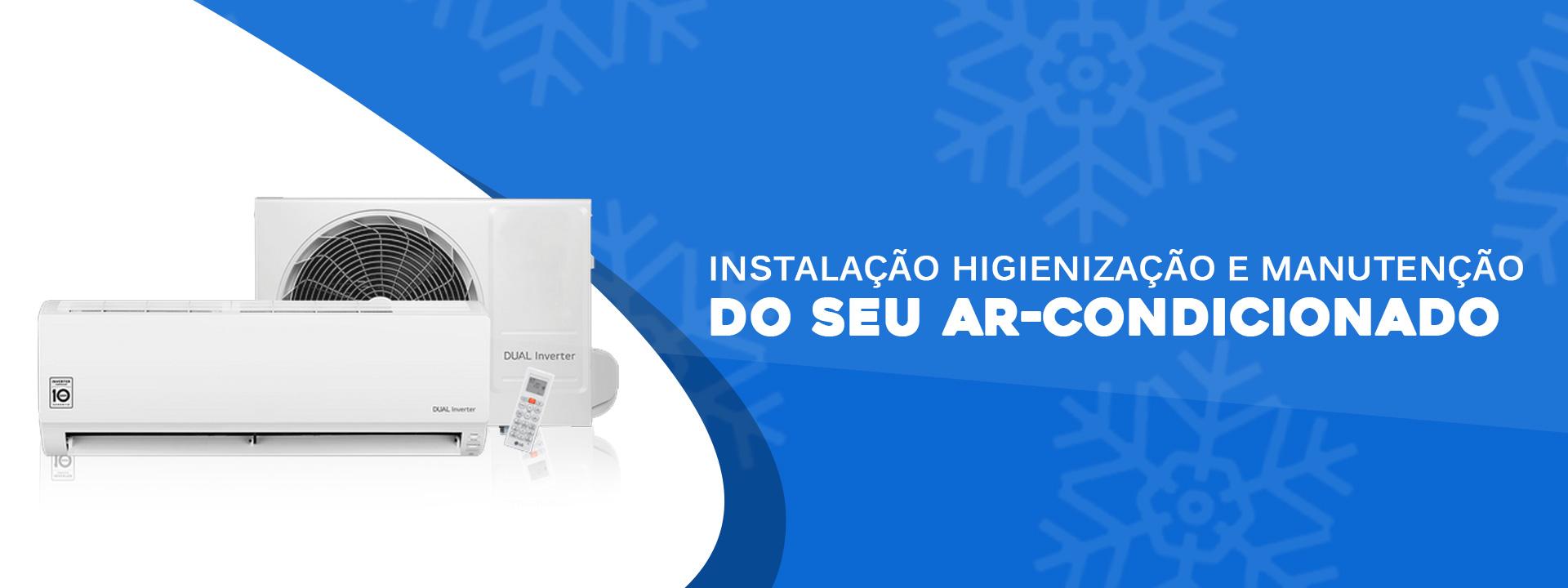 Instalação Manutenção e Higienização de Ar Condicionado Cantareira Zona Norte SP